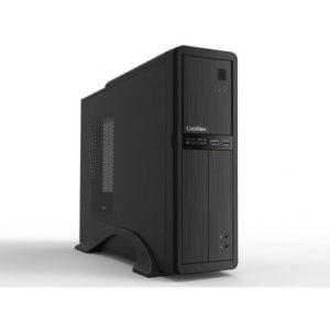 Caja Sobremesa/Micro-Atx Coolbox T300 Slim 500w 2usb3.0 Negra