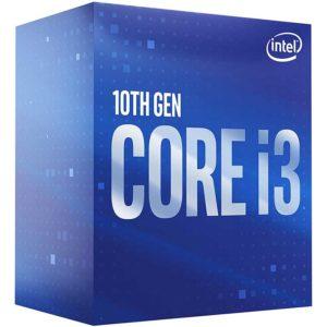 Procesador Intel Core I3-10100 3.6Ghz 6Mb Lga1200 4C/8T Bx8070110100F