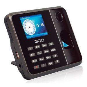 Controlador de presencia 3go as100 - huella dactilar/contraseña - pantalla tft 7.11cm - usb - software incorporado