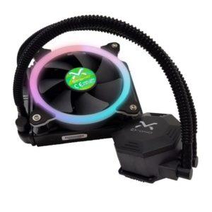 Sistema De Refrigeracion Liquida 3Go Droxio Lc120 - Iluminacion Rgb - Base De Cobre - Socket Intel/Amd Segun Especificaciones