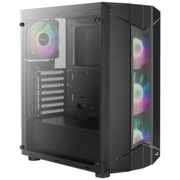 Caja Semitorre Aerocool Sentinel - Usb 3.0/2*Usb 2.0 - Hd Audio+Mic - Soporta Refrigeracion Liquida - Atx/Micro-Atx/Mini-Itx