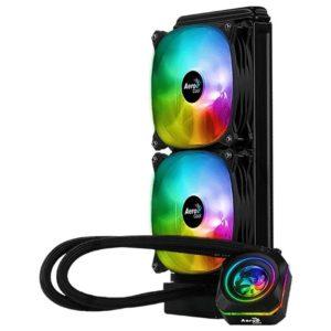 Sistema De Refrigeracion Liquida Aerocool Pulse L240F - Iluminacion Rgb - Bloque Cobre / Radiador Aluminio - Socket Intel/Amd Segun Especificaciones