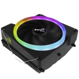 Disipador Aerocool Cylon3 - Aluminio - Ventilador 12Cm - Anillo Led Rgb - Sockets Compatibles Segun Especificaciones