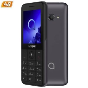 Smartphone movil alcatel 3088 metallic grey - 2.4'/6cm - dc - 512mb ram - 4gb - cam 2mpx - 4g - bat 1530mah