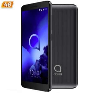 Smartphone movil alcatel 1 2019 black - 5'/12.7cm - qc mediatek mt6739 - 1gb ram - 8gb - cam 5/2mpx - android - 4g - dual sim -
