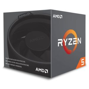 Procesador Amd Ryzen 5 2600 Am4 3.9Ghz 19Mb 6 Core 65W Yd2600Bbafbox