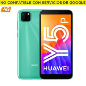 Smartphone movil huawei y5p mint green - 5.45'/13.8cm - cam 8/5mp - oc - 32gb - 2gb ram - 4g - android 10 aosp - appgallery -