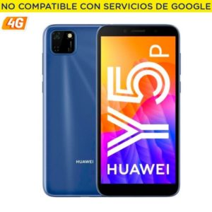 Smartphone movil huawei y5p phantom blue - 5.45'/13.8cm - cam 8/5mp - oc - 32gb - 2gb ram - 4g - android 10 aosp - appgallery -