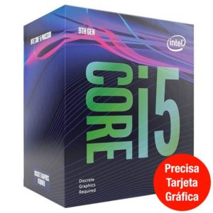 Procesador Intel Core I5-9500F 3Ghz 1151 Smart Cache Bx80684I59500F