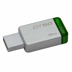 Pendrive kingston datatraveler dt50 16gb - usb 3.1 - 30mb/s lectura - 5mb/s escritura
