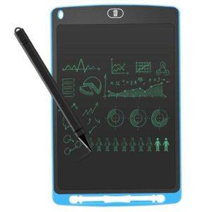 Mini pizarra digital leotec sketchboard ten blue - 10'/25.4cm - pantalla lcd - lápiz óptico incluido - batería - imán trasero -