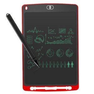 Mini pizarra digital leotec sketchboard ten red - 10'/25.4cm - pantalla lcd - lápiz óptico incluido - batería - imán trasero -