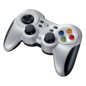 Gamepad Logitech F710 Wireless Compatible Pc - Vibracion - 2.4Ghz - 2 Pilas Aa - 940-000142