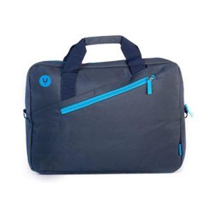 Maletín monray ginger blue - para portátiles hasta 15.6'/39.6cm - nylon - 2 compartimentos + bolsillo - cinta para trolley