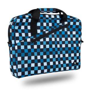 Maletín monray ginger chess - para portátiles hasta 15.6'/39.6cm - nylon - 2 compartimentos + bolsillo - cinta para trolley