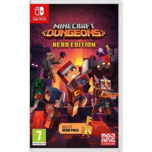 Juego Para Consola Nintendo Switch Minecraft Dungeons Hero Edition