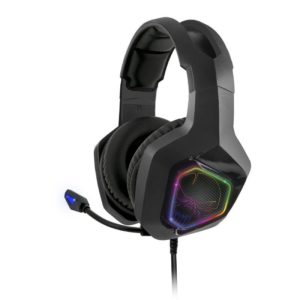 Auriculares Con Microfono Spirit Of Gamer Elite-H50 Black Edition - Drivers 40Mm - Conector Jack 3.5 - Cable 2.1M