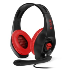 Auriculares Con Microfono Spirit Of Gamer Pro-Nh5 - Drivers 40Mm - Conector Jack 3.5Mm - Compatible Nintendo Switch - Cable 1M - Negro Y Rojo