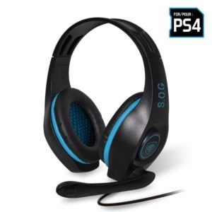 Auriculares Con Microfono Para Ps4 Spirit Of Gamer Pro-Sh5 - Drivers 40Mm - Conector Jack 3.5Mm - Cable 1M