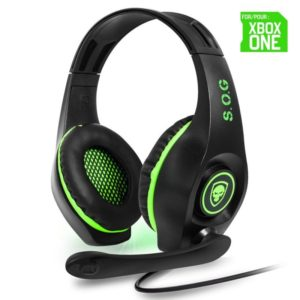 Auriculares Con Microfono Para Xbox One Spirit Of Gamer Pro-Xh5 - Drivers 40Mm - Conector Jack 3.5Mm - Cable 1M