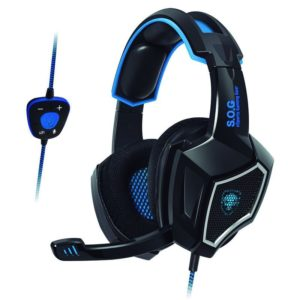 Auriculares con micrófono spirit of gamer xpert-h500 black - drivers 40mm - sonido 7.1 - conector usb - cable 2.1m