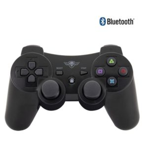 Mando spirit of gamer bluetooth pro gaming ps3 - motores doble vibración - sensores movimiento sixaxis - batería 400mah - para