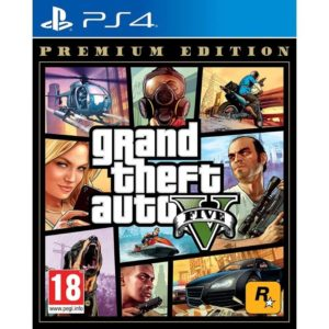 Juego Para Consola Sony Ps4 Grand Theft Auto V Premium Edition