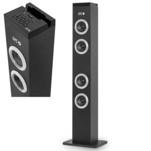 Torre de sonido spc breeze - 10w - fm -bt 4.2 - sd / aux in - puerto de carga usb - mp3/wav - mando a distancia