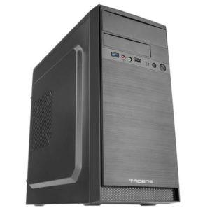 Caja minitorre tacens anima ac4500 - fuente 500w - 1*usb 3.0/1*usb2.0 + hd audio y micrófono - admite vga max 310mm - frontal