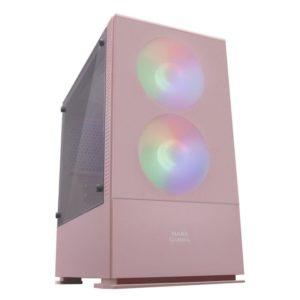 Caja Semitorre Mars Gaming Mczp Pink - Usb 3.0 / 2*Usb 2.0 - Hd Audio/Mic - Soporta Refrigeracion Liquida - 2*Ventiladores Frgb - Micro-Atx/Mini-Itx