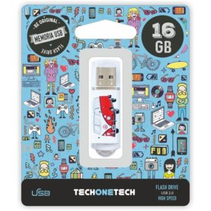 Pendrive tech one tech camper van-van 16gb usb 2.0