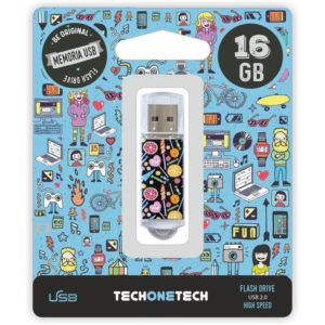 Pendrive tech one tech candy pop 16gb usb 2.0