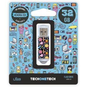 Pendrive tech one tech candy pop 32gb usb 2.0