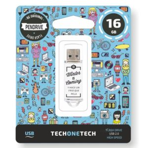 Pendrive tech one tech winter is coming 16gb usb 2.0