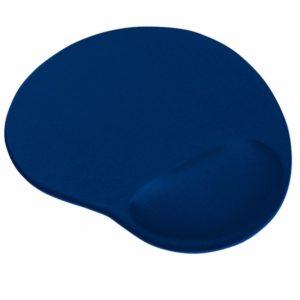 Alfombrilla trust bigfoot 20426 - base antideslizante - superficie de microfibra - azul