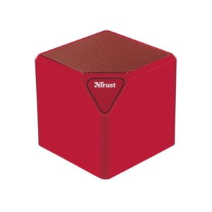 Altavoz bluetooth trust ziva wireless red - batería - usb / sd / line in - función manos libres