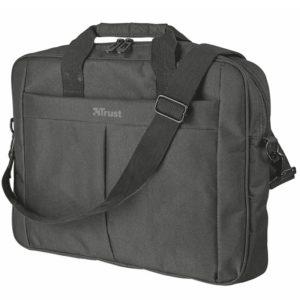 Maletín trust primo para portátiles hasta 16'/40.6cm - compartimento principal acolchado - correa para el hombro ajustable