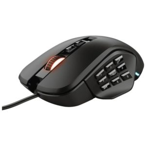 Raton Trust Gaming Gxt 970 Morfix - 10000Ppp - 14 Botones Programables - 4 Laterales Intercambiables - Iluminacion Rgb - Cable 1.8 Usb