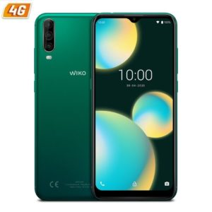 Smartphone movil wiko 4 lite deep green - 6.52'/16.56cm hd+ - oc 1.8hz - 2gb - 32gb - cam (13+2+5)/5 mpx - 4g - dual sim -