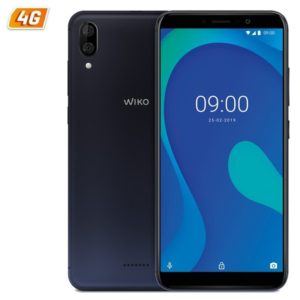 Smartphone movil wiko y80 blue - 5.99'/15.2cm hd+ - oc 1.6ghz - 2gb - 16gb - cámara (13+2)/5mp - 4g - android 9 - bt - gps -