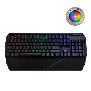Teclado Mecanico Gaming Woxter Stinger Rx 2000 K - 104 Teclas Antighost - Switches Byk816 - Retroiluminacion Led Rgb - Cable 1.8M