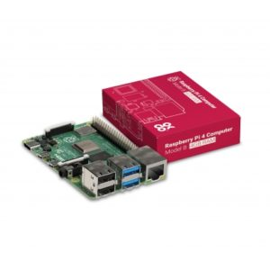 Placa base Raspberry Pi 4 modelo B 4GB SDRAM