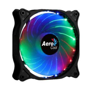 Ventilador Aerocool Cosmo 12 Frgb - 12Cm - 1000Rpm - Iluminacion Rgb Fija - 23.9Dba - Conector Molex
