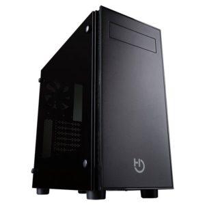 Caja Semitorre Hiditec Ng-Vx - Usb3.0 - 2*Usb - Auricular - Microfono - Admite Graficas Hasta 350Mm - Lateral Cristal Templado - Atx/Microatx