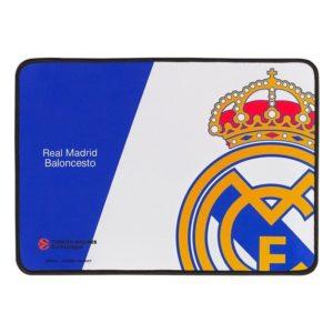 Alfombrilla Mars Gaming Mmprm Real Madrid Baloncesto - Superficie 350*250*3Mm Nanotextil - Base Caucho - Borde Reforzado